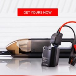Jumpi: 3-in-1 Car Vacuum Cleaner, Jump Starter, and Power Bank