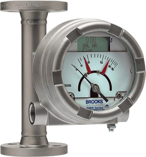 Metal Tube Variable Area Flow Meter, Metal Tube Rotameter, Industrial Flow Meters For Oil, Water and Liquids.