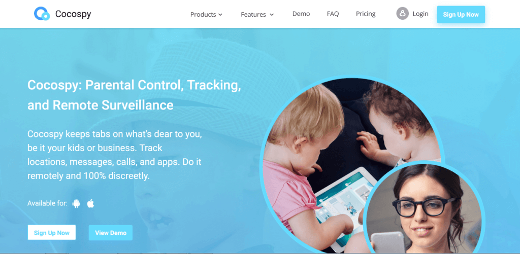 Cocospy: Parental Control, Tracking, and Remote Surveillance. Track locations, messages, calls, and apps. Do it remotely and 100% discreetly.