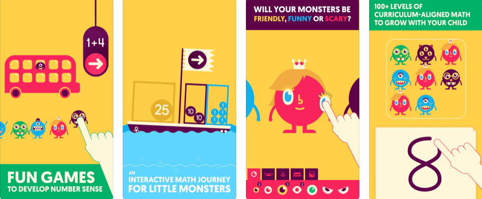 Quick Math Jr. Fun Games to Develop Number Sense. An Interactive Math Journey For Kids. 100+ Levels of Curriculum-Aligned Math To Grow With Your Child.