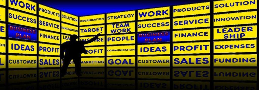Business Plan, Business Success, Profit, Sales.