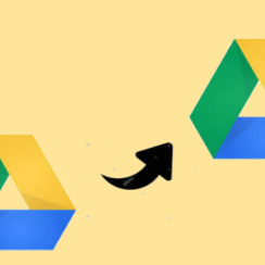 Move Folder from One Google Drive Account to Another