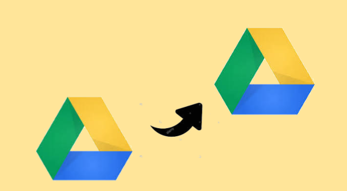 Move Folder from One Google Drive Account to Another.
