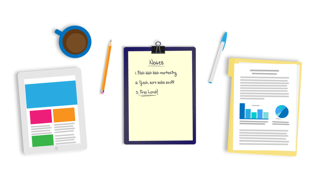Notes, Charts, Statistics, Illustrative Figures
