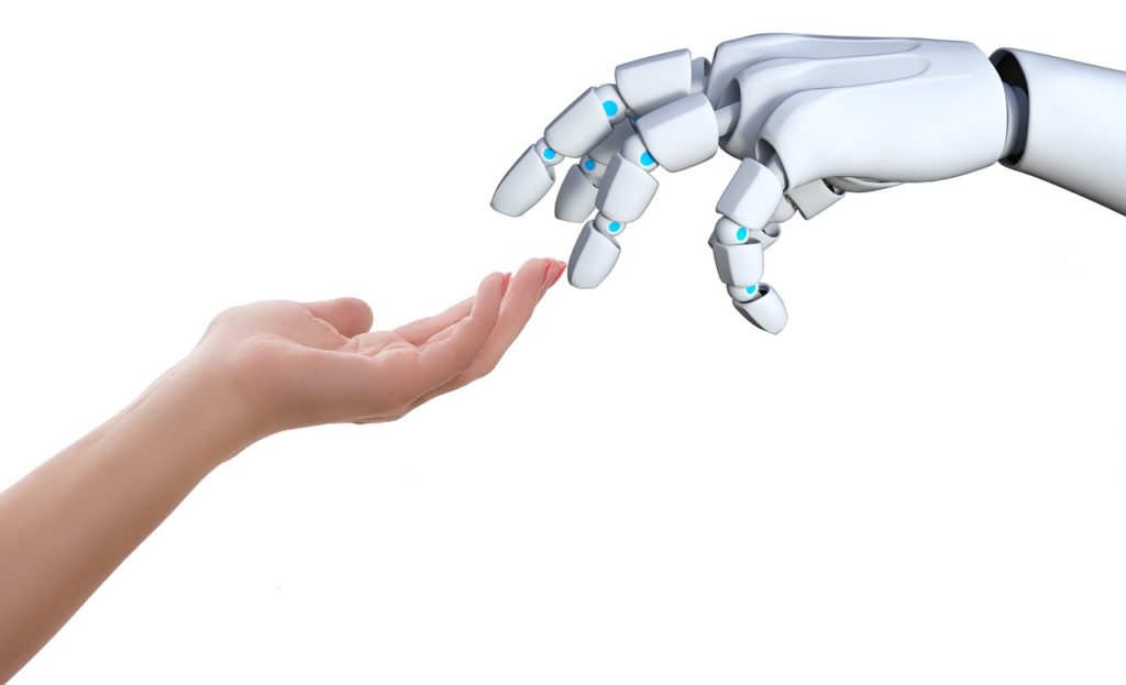 Technology, Connection, Hand, Human Touch, Robot, Communication.