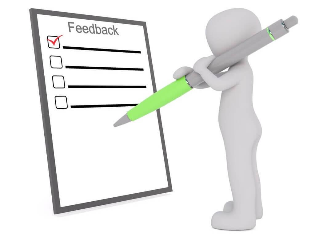 Customer Feedback, Customer Testimonials.