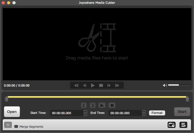 Joyoshare Media Cutter - Best Video Trimmer and Joiner.