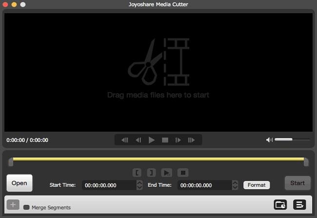 Joyoshare Media Cutter - Best Video Trimmer and Joiner.