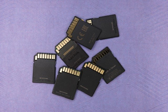 SD Cards or Memory Cards