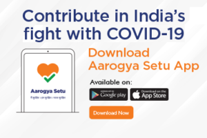 Download Arogya Setu App. Contribute in India's Fight with COVID-19