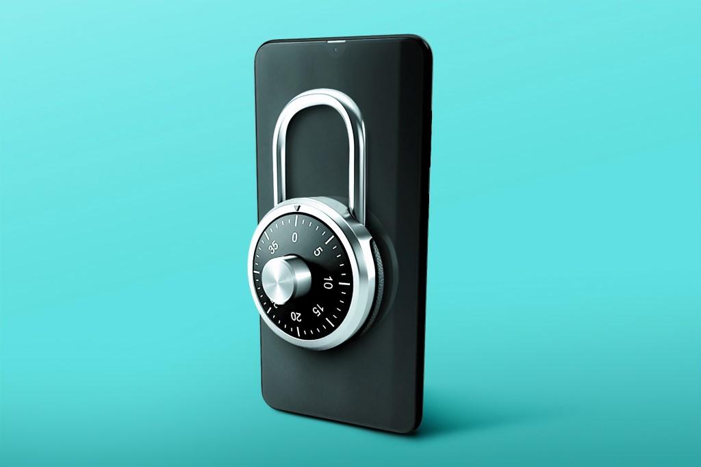 Digital Signature, Password, Data Security, Padlock.