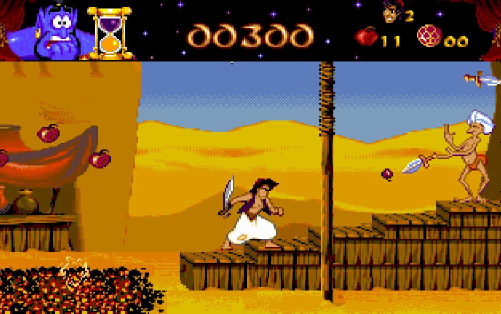 Disney's Aladdin video game.
