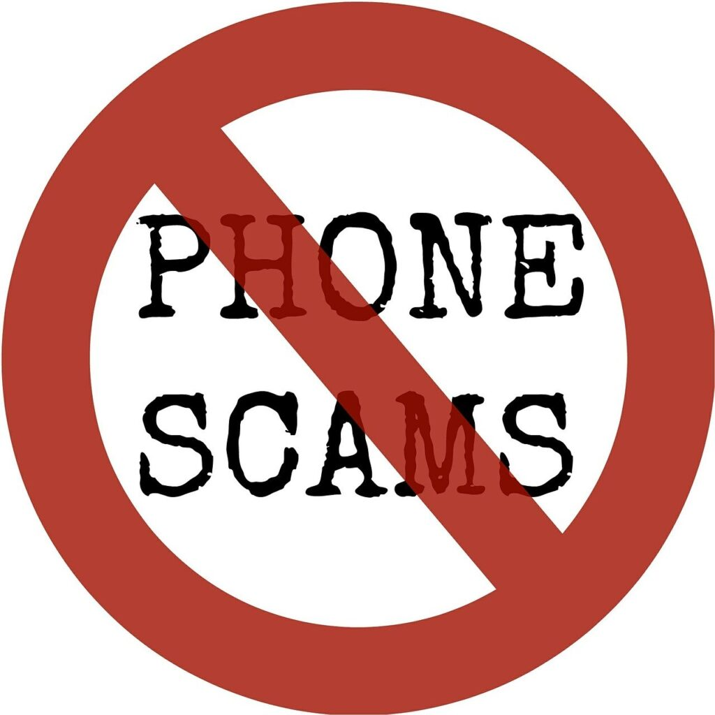 Phone Scams Fraud, No Phone Scams.