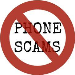 Phone Scams Fraud