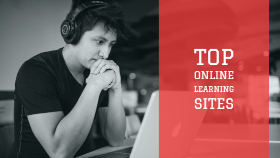 Top online learning sites.