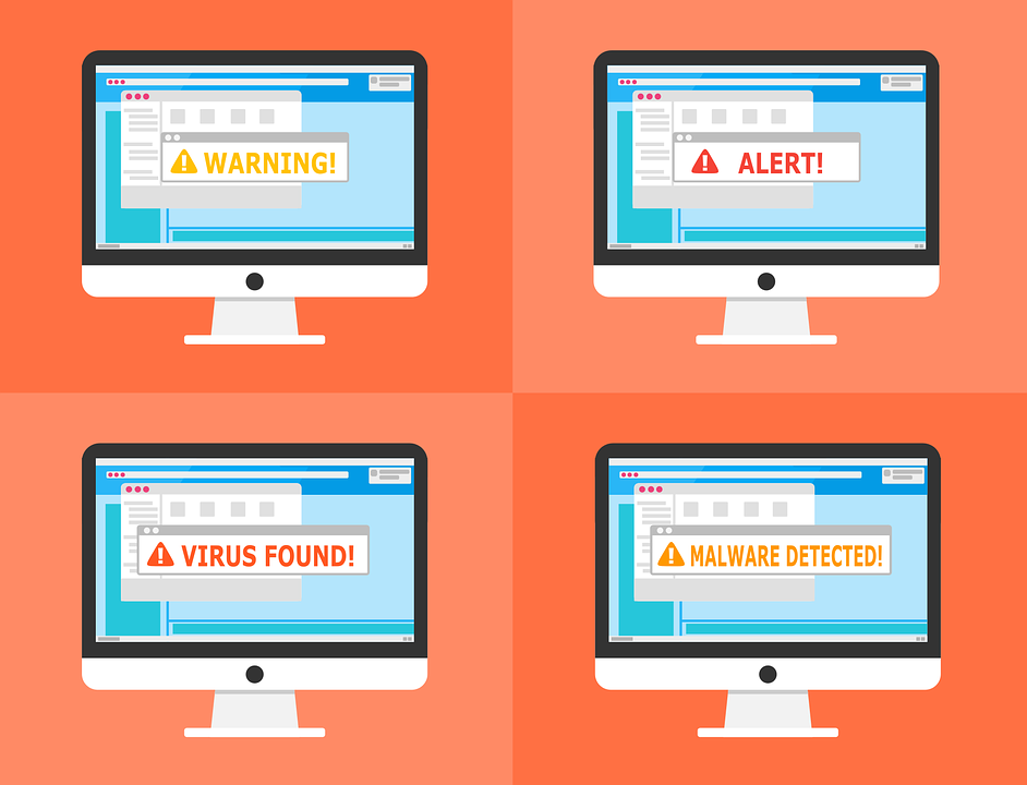 Warning! Alert! Virus Found! Malware Detected!