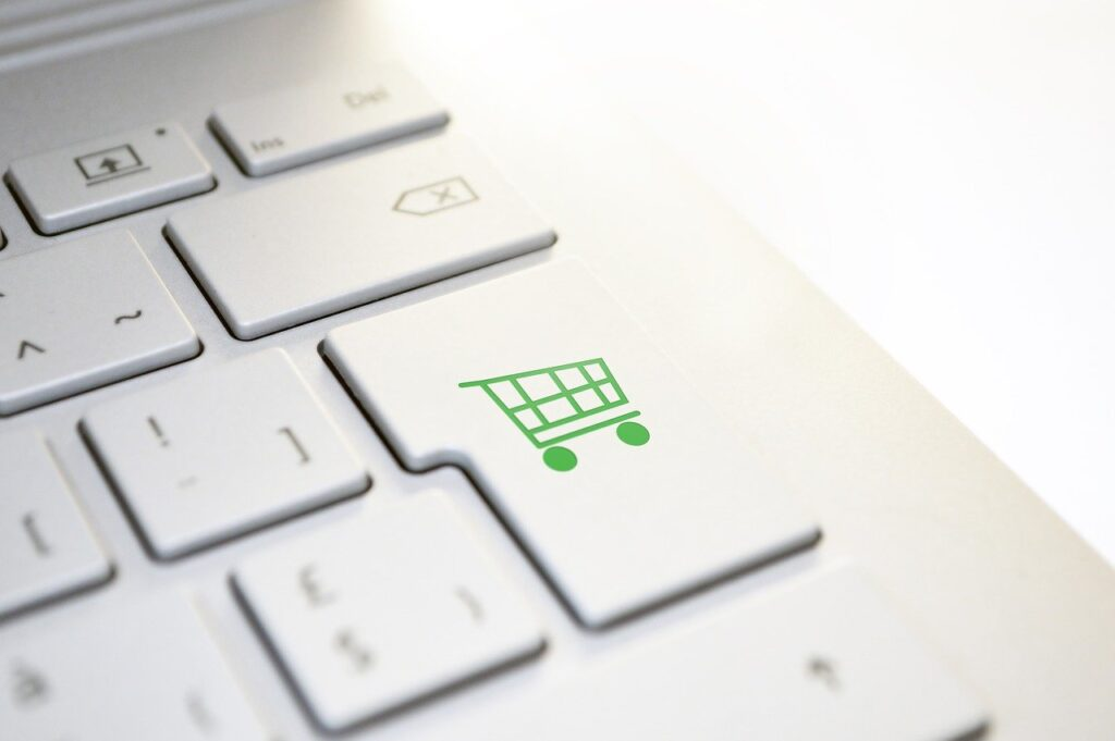 Online Shopping, Buy Online, Purchase in One Click.