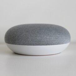 Google Home Mini, Google Assistant, Google Smart Assistant, Voice Assistant Technology, Gadget