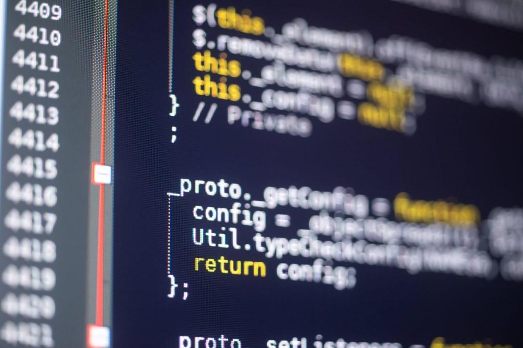 JavaScript code.