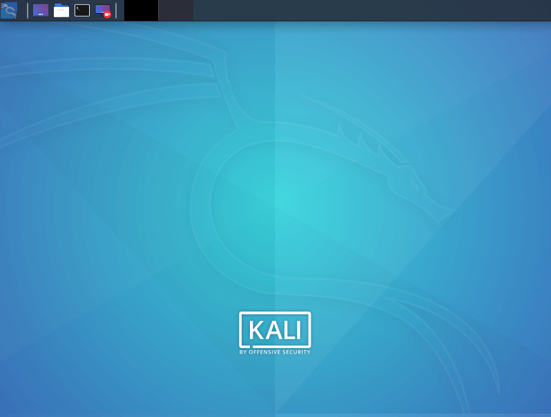 Kali Linux environment.