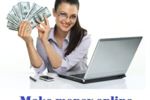 Make money online from software or software development.