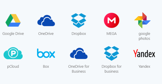 Manage Multiple Cloud Storage Accounts.