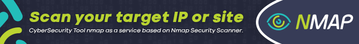 Nmap Security Scanner, CyberSecurity Tool Nmap, Scan your target IP or site.