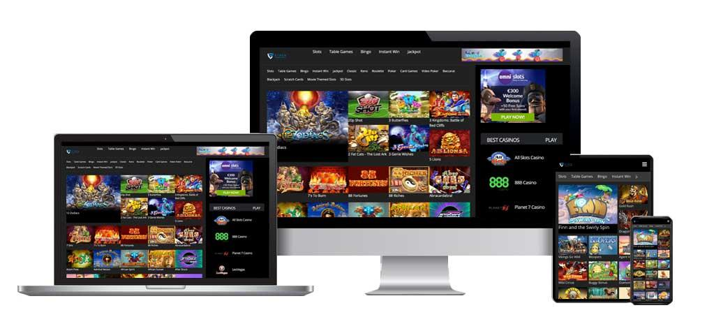 Online Casino Affiliate Website.