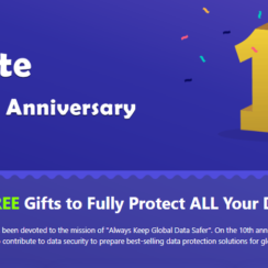 AOMEI 10th Anniversary Giveaway: FREE Gifts to Fully Protect ALL Your Data. On the 10th anniversary, AOMEI is determined to contribute to data security to prepare best-selling data protection solutions for global users for FREE!