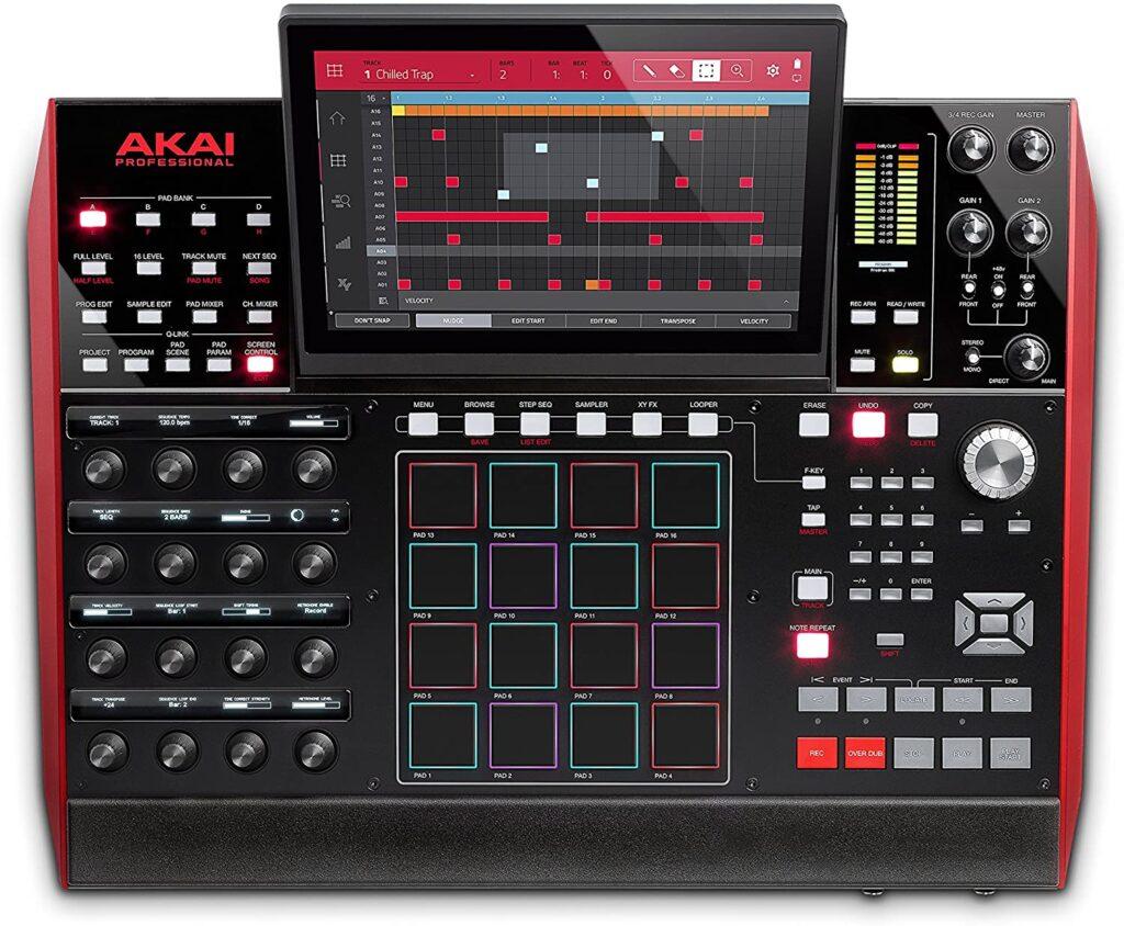 Akai MPC Drum Machine.