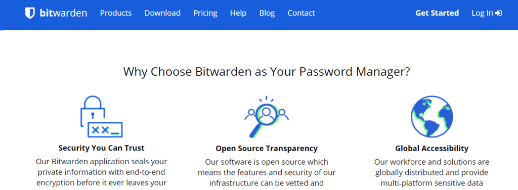 Choose Bitwarden as Your Password Manager.