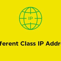 Different Class IP Address