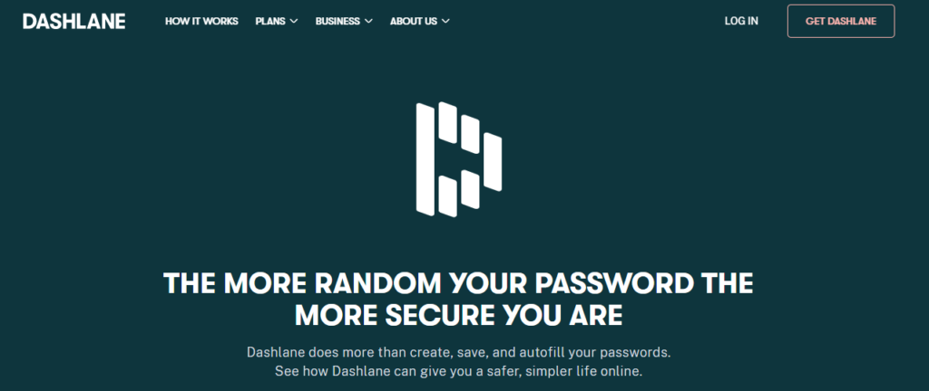 Dashlane Password Manager: Create, save, and autofill your passwords online.