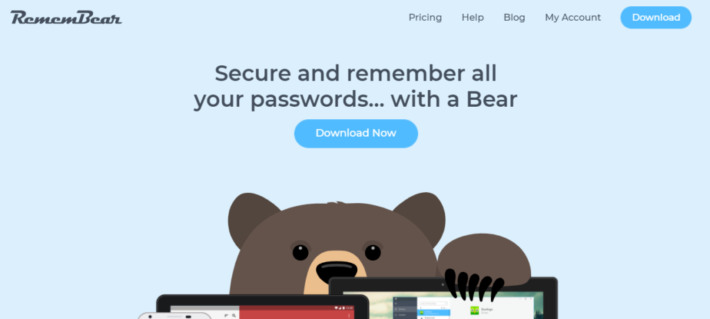 RememBear Password Manager: Secure and remember all your passwords.