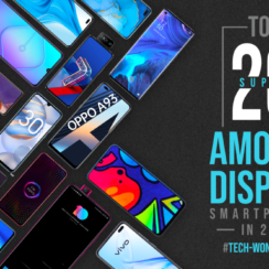 Top 20 Super AMOLED Display Smartphones in 2020