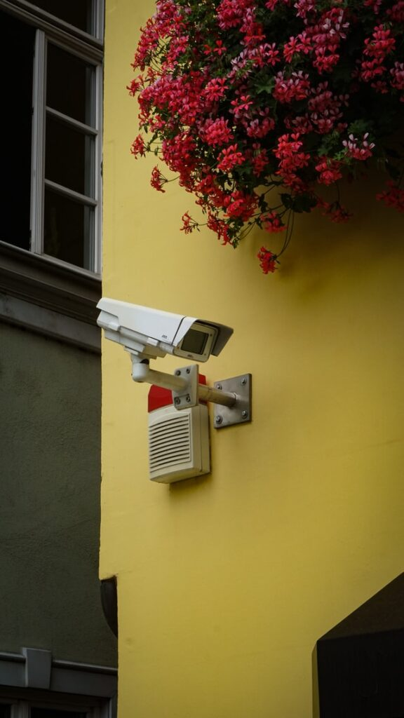 Home security camera.