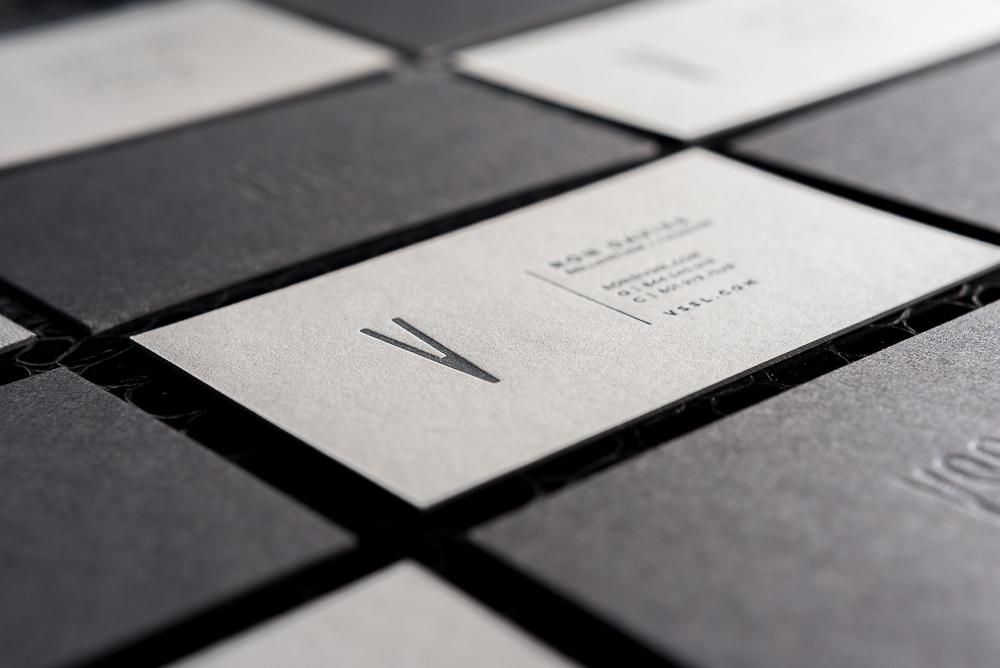 Paper Business Cards.
