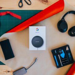 Google Nest Mini Voice Assistant Speaker
