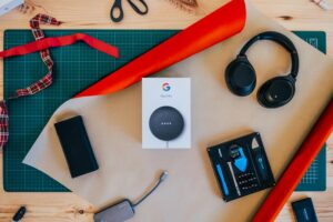 Google Nest Mini Voice Assistant Speaker