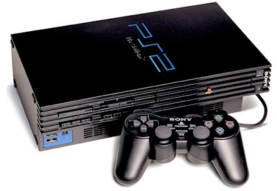 PlayStation 2 (PS2) video game console.