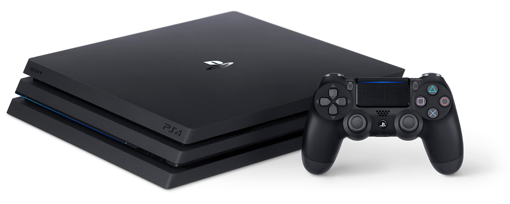 PlayStation 4 (PS4) home video game console.