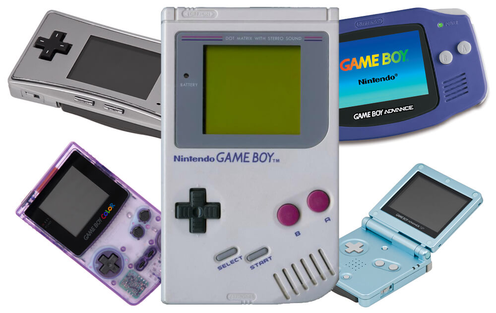 Nintendo Game Boy handheld video game consoles.