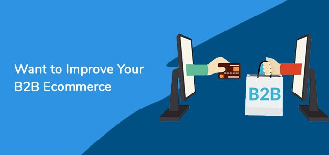 Want to Improve Your B2B Ecommerce