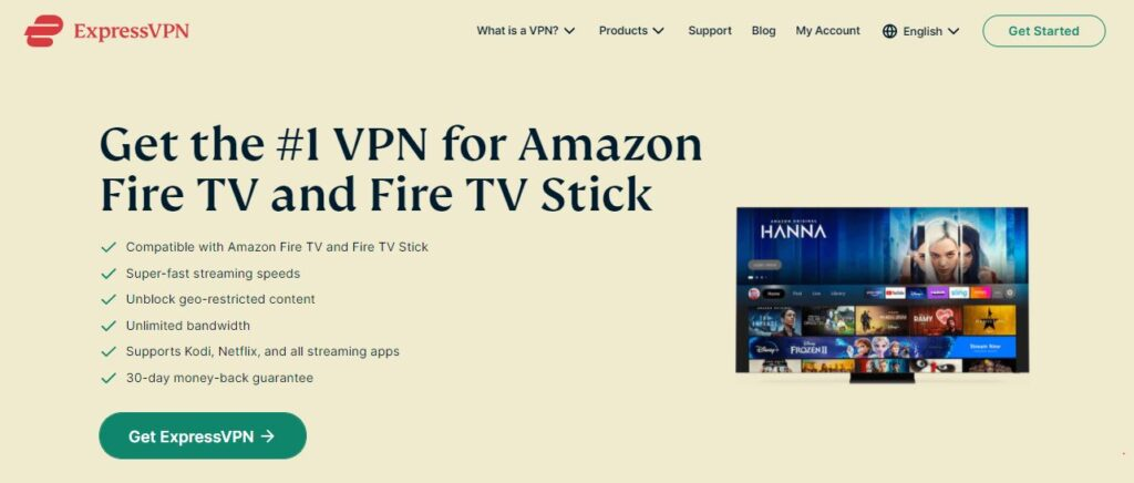 ExpressVPN: #1 VPN for Amazon Fire TV and Fire TV Stick