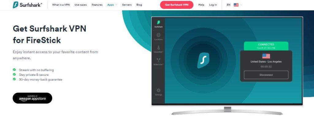 Get Surfshark VPN for FireStick