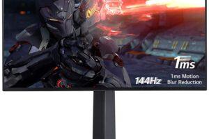LG 27-inch UltraGear 4K-UHD G-Sync Gaming Monitor