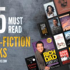 15 Must Read Non-Fiction Books