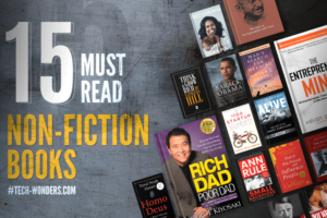 15 Must Read Non-Fiction Books