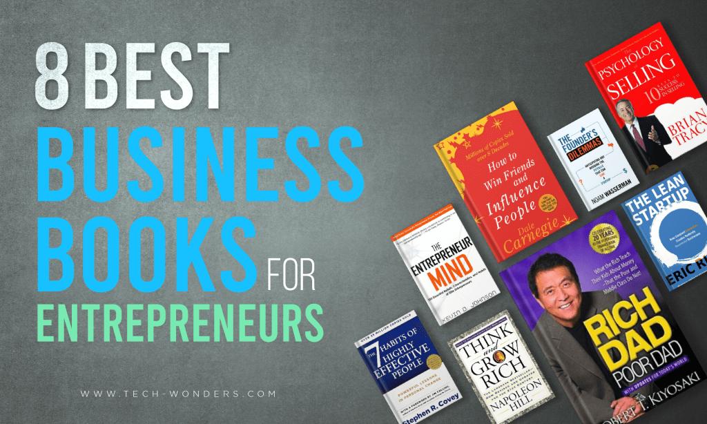 8 Best Business Books for Entrepreneurs