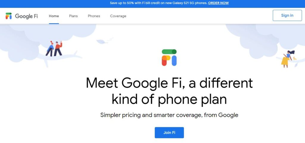 Meet Google Fi, a different kind of phone plan. Simpler pricing and smarter coverage, from Google